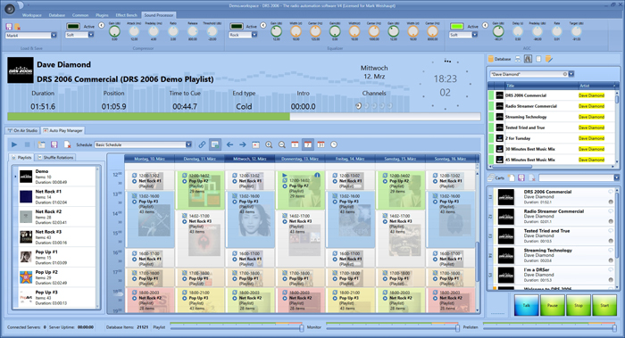 DRS 2006 - The radio automation software V4 - Auto Play Manager Plugin